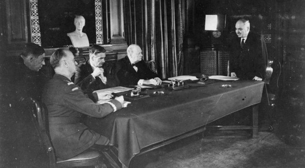 Podpisanie układu Sikorski-Majski. 30 lipca 1941 roku.