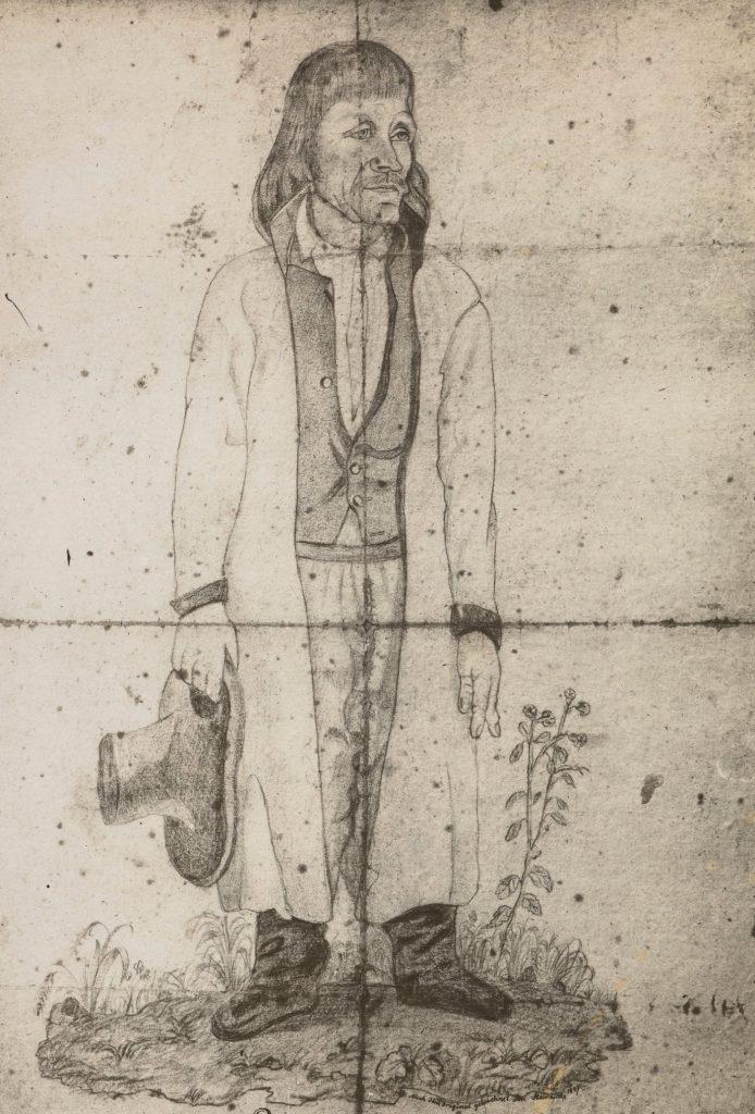 Portret Jakuba Szeli z 1847 roku (domena publiczna).