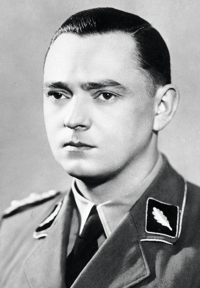 SS-Standartenführer Horst Böhme (domena publiczna).