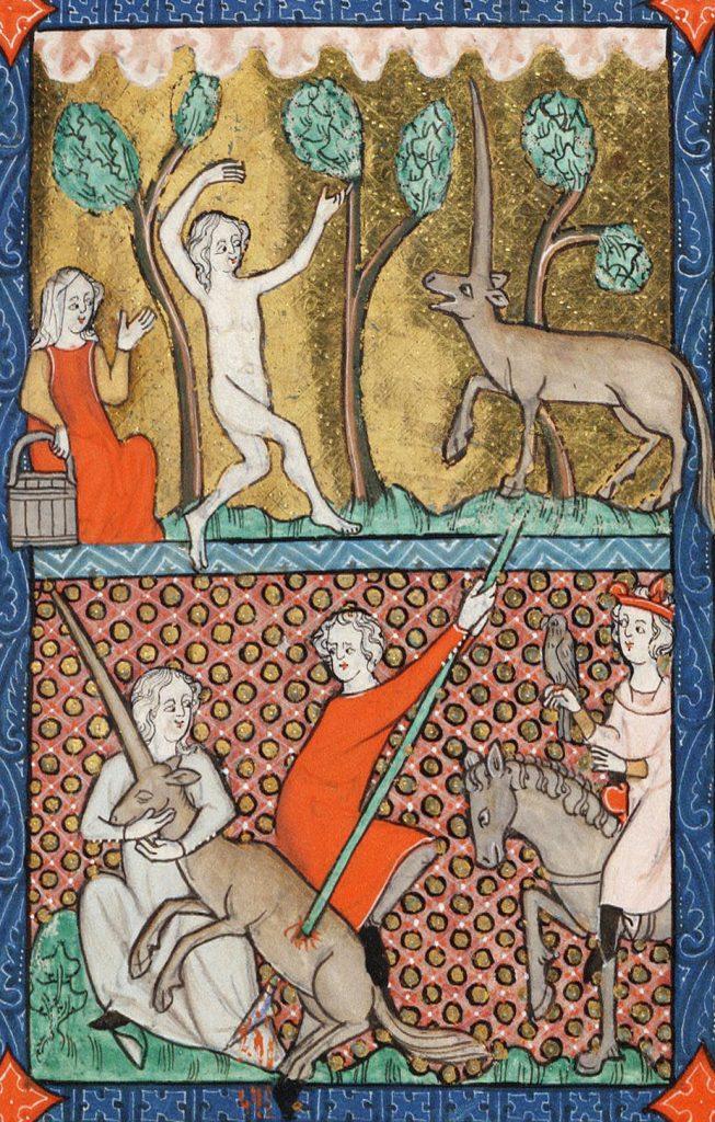 Średniowieczna instrukcja polowania na jednorożce