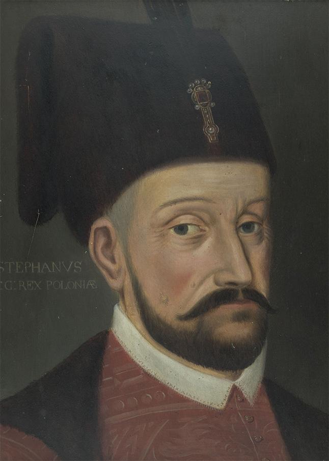 Stefan Batory. Obraz XIX-wieczny według wzoru nowożytnego.