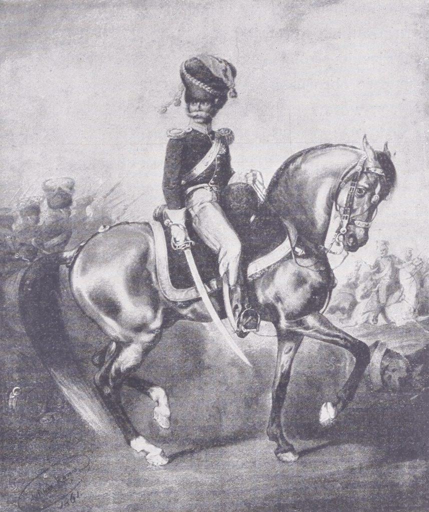 Ulotki wzywały polskich Żydów, aby szli w ślady bohatera insurekcji kościuszkowskiej Berka Joselewicza (domena publiczna).