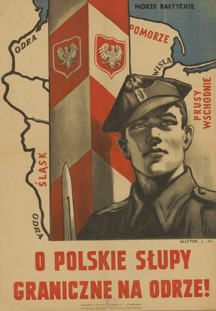 W razie sojuszu Polski z Hitlerem po jego przegranej moglibyśmy tylko pomarzyć o słupach granicznych na Odrze (domena publiczna).