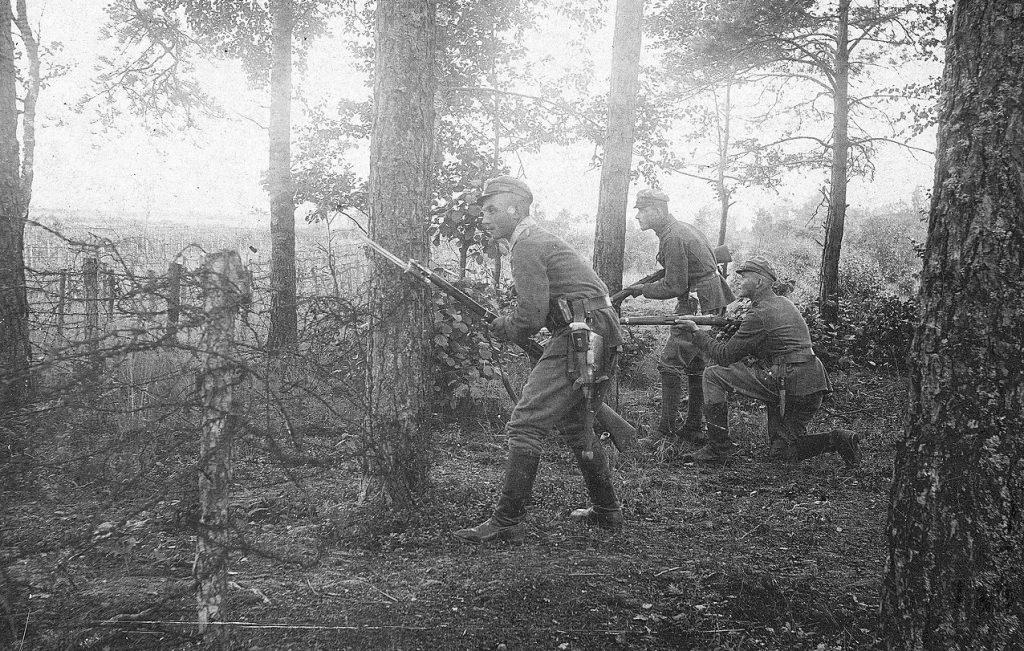 W szeregach Legionów walczyło blisko 650 Żydów. Ilustracja poglądowa (domena publiczna).