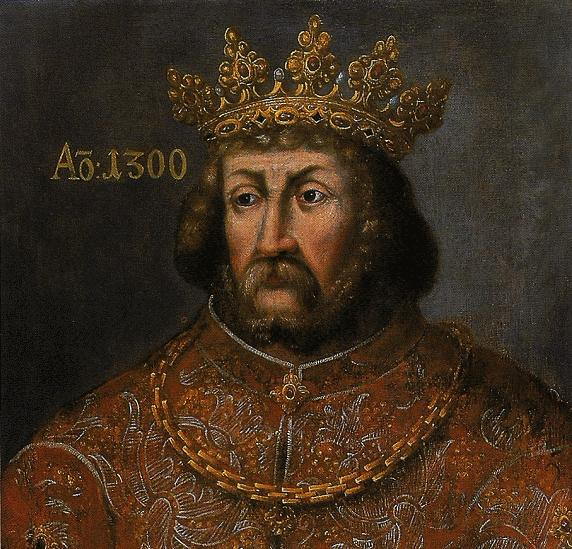 Wacław II. Wyobrażenie z Ratusza Staromiejskiego w Toruniu.