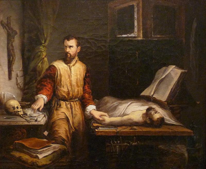 XIX-wiecznym portret Ambrożego Parégo pędzla Jamesa Bertranda (domena publiczna).