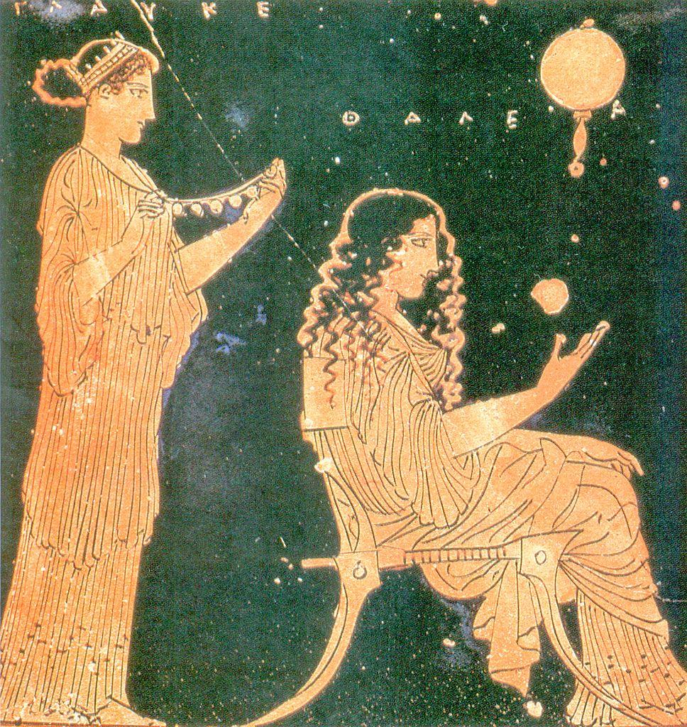 Dla starożytnych Greków kluczowe znaczenie miało to czy rodzeństwo posiadało wspólną matkę. Na ilustracji fragment wazy przystawiający przygotowania do ślubu (domena publiczna).