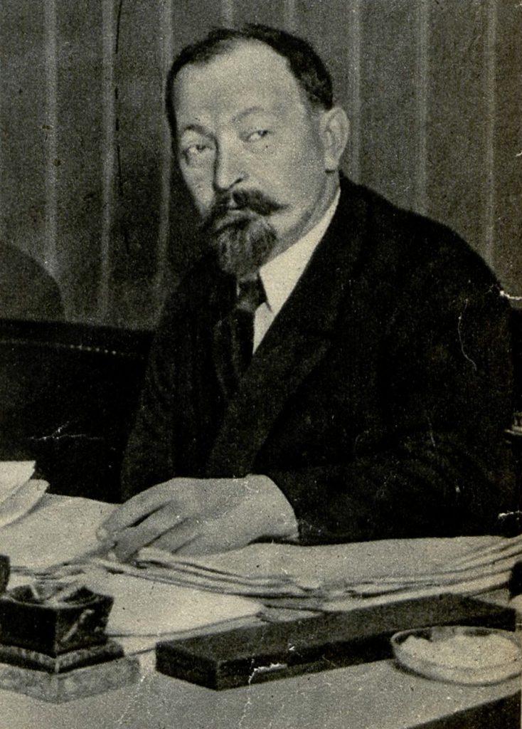 Dzierżyński nie miał żadnych dowodów na poparcie swoich tez, ale i tak przekonał do nich bolszewicką wierchuszkę (domena publiczna).