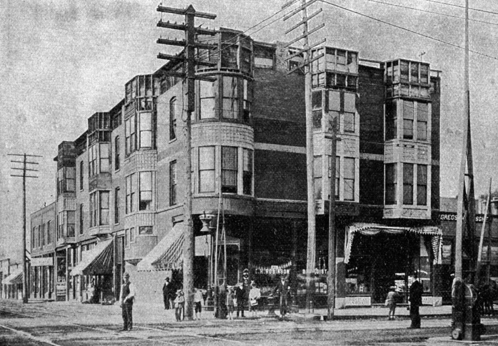Hotel Holmesa, w którym popełniał swoje zbrodnie (domena publiczna).