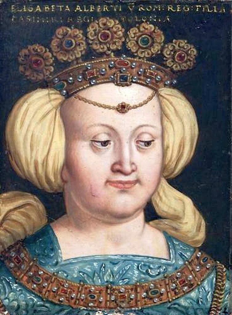 Imaginatywny portret Elżbiety z drugiej polowy XVI wieku (domena publiczna).