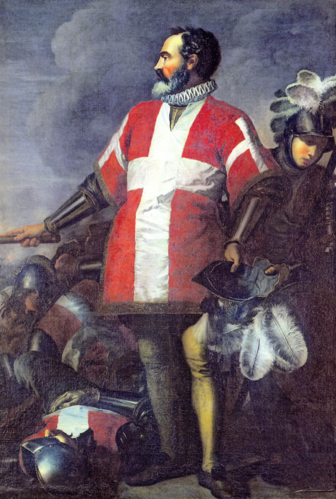 Wielki mistrz joannitów Jean Parisot de La Valette według Hamelina de Guetteleta (domena publiczna).