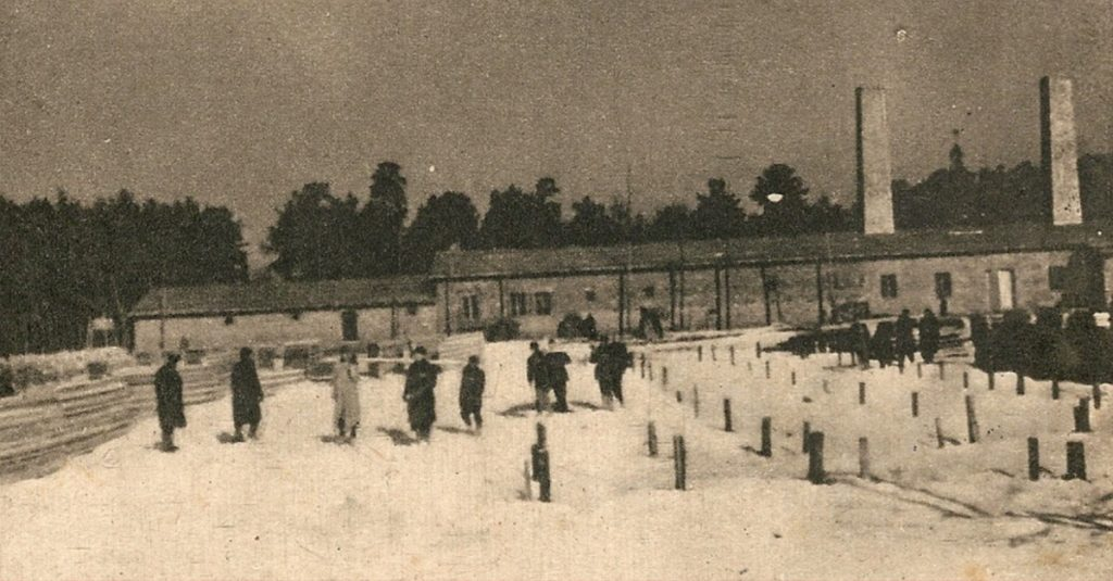 Krematorium w Auschwitz-Birkenau.