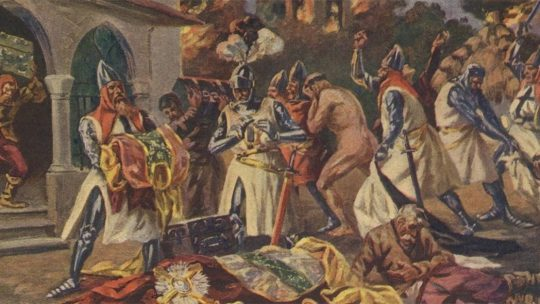 Krzyżackie rabunki