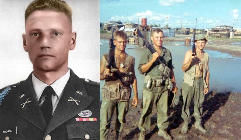 Lauri Törni (Larry Thorne) w amerykańskim mundurze