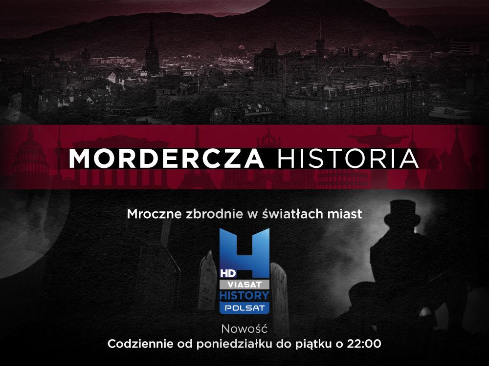 """Inspiracją do tekstu był program """"Mordercza historia"""", którego premiera odbędzie się w poniedziałek 3 maja o 22:00 na kanale Polsat Viasat History. Emisja kolejnych odcinków w dni powszednie o 22:00."""