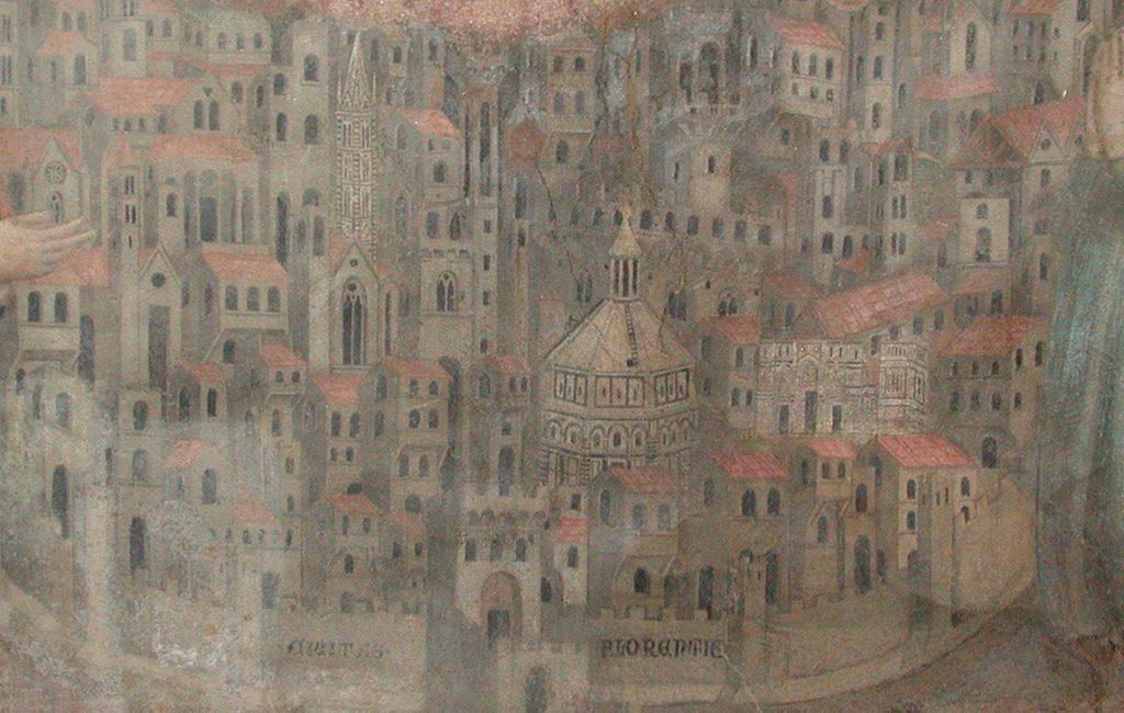 Najstarsze wyobrażenie średniowiecznej Florencji. Malowidło Bernarda Daddiego z XIII wieku