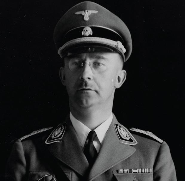 Nazistowski zbrodniarz Heinrich Himmler