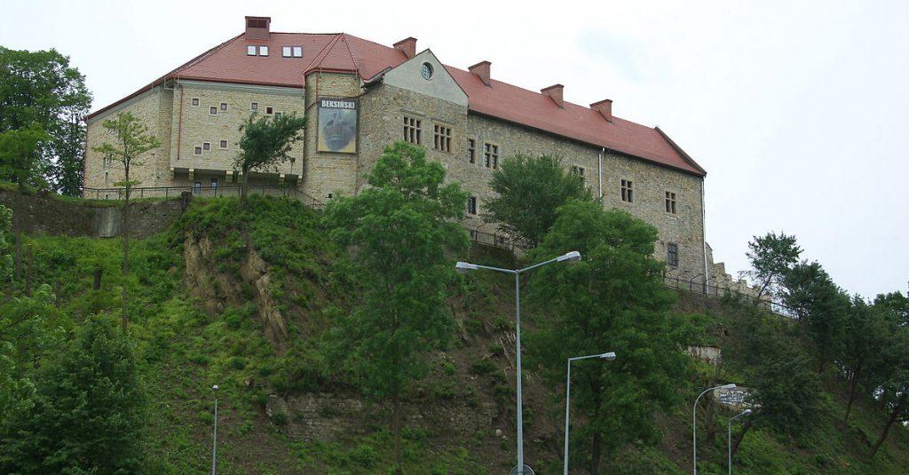 Obecna bryła zamku w Łańcucie