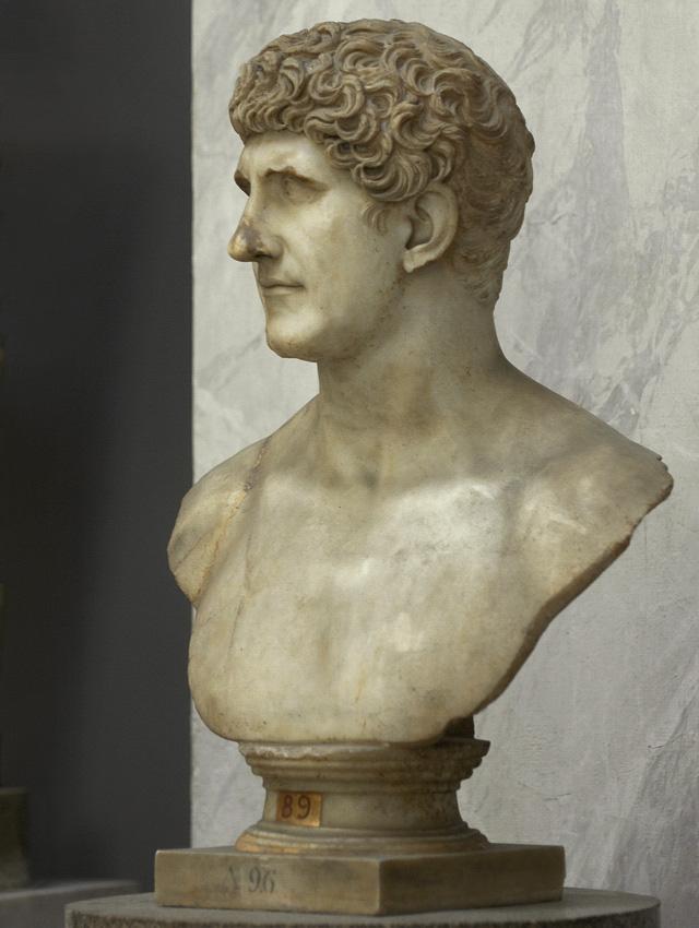Popiersie Marka Antoniusza z I wieku n.e.