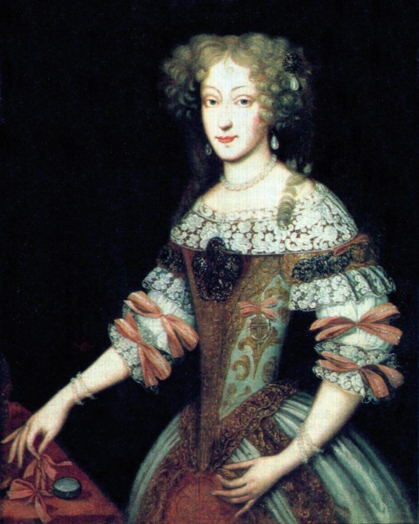 Portret Eleonory Habsburżanki z lat 70. XVII wieku (Daniel Schultz/domena publiczna).