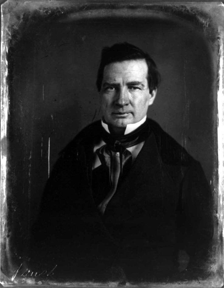 Pułkownik Thomas Rusk (na zdjęciu) próbował ocalić życie generała Castrillona (domena publiczna).