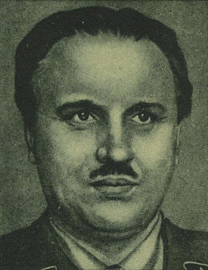 SS-Brigadeführer dr Walter Schieber, to on wpadł na pomysł, aby żywić ludzi celulozą (domena publiczna).