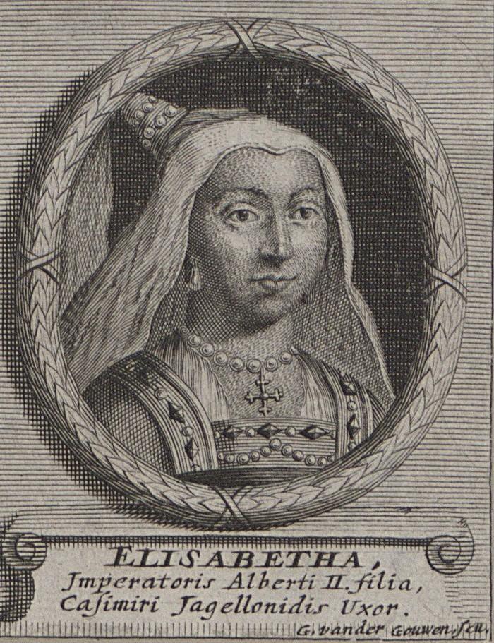 To XVII-wieczne wyobrażenie Elżbiety niewiele miało wspólnego z jej prawdziwym wyglądem (Gilliam van der Gouwen/domena publiczna).