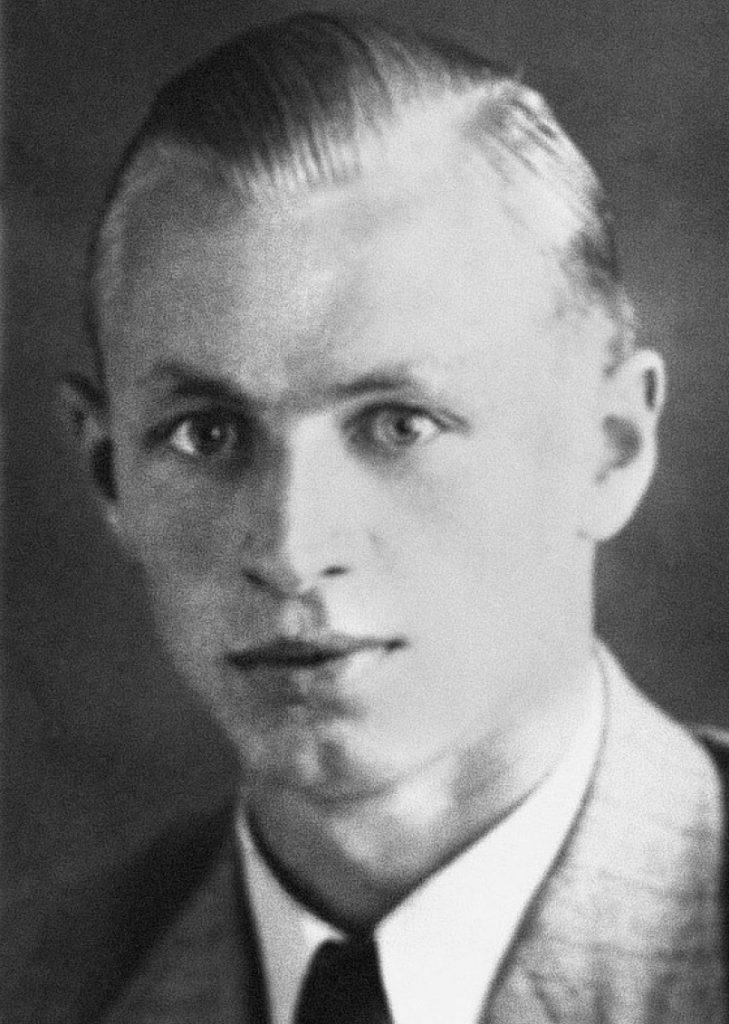 Dowódcą pantery, który zniszczyła shermana Kellnera był  podporucznik Wilhelm Bartelborth. Zdjęcie z książki Szpica (materiały prasowe).