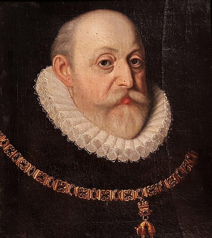 Wilhelm z Rožemberku. Portret z epoki.