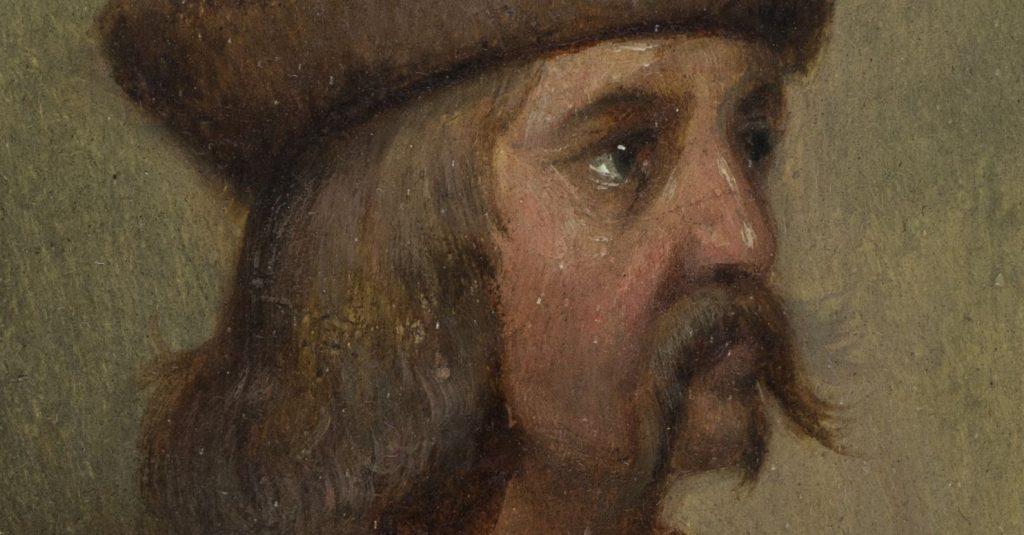 Władysław Jagiełło w wyobrażeniu Marcelego Krajewskiego