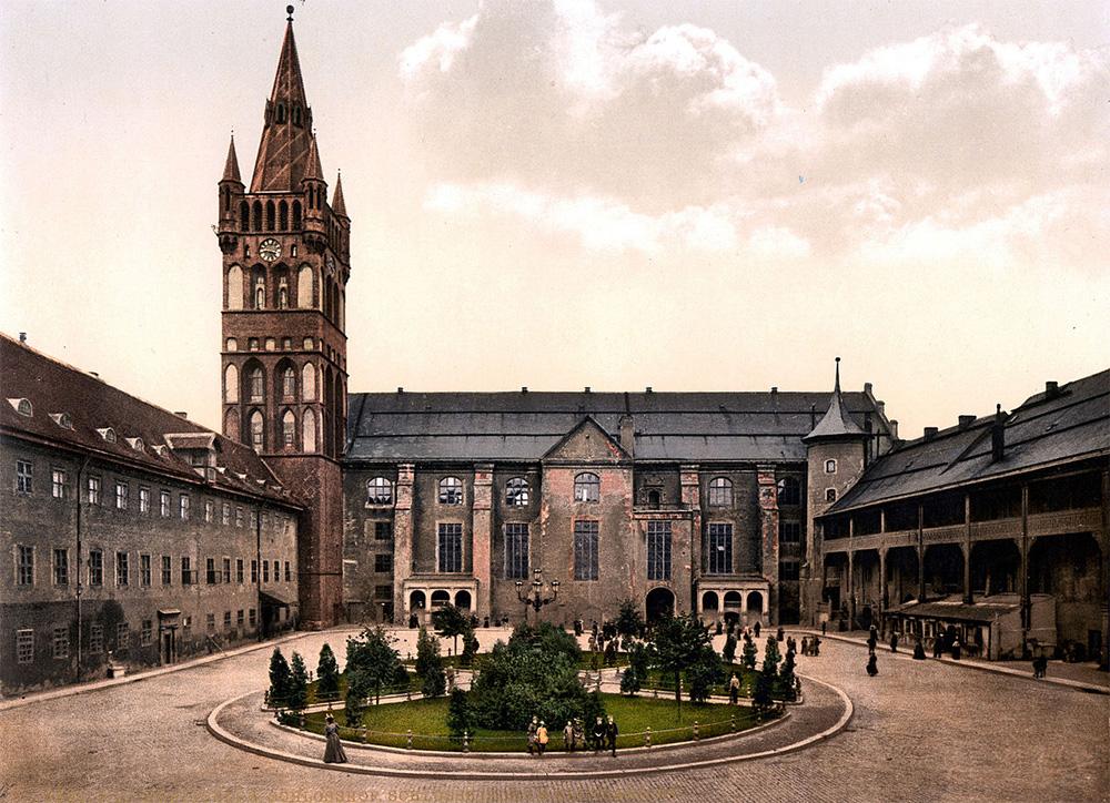 Zamek w Königsberg (Królewcu)