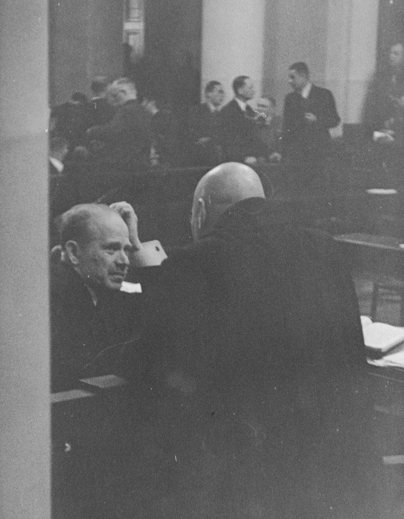Cywiński podczas rozprawy apelacyjnej (domena publiczna).