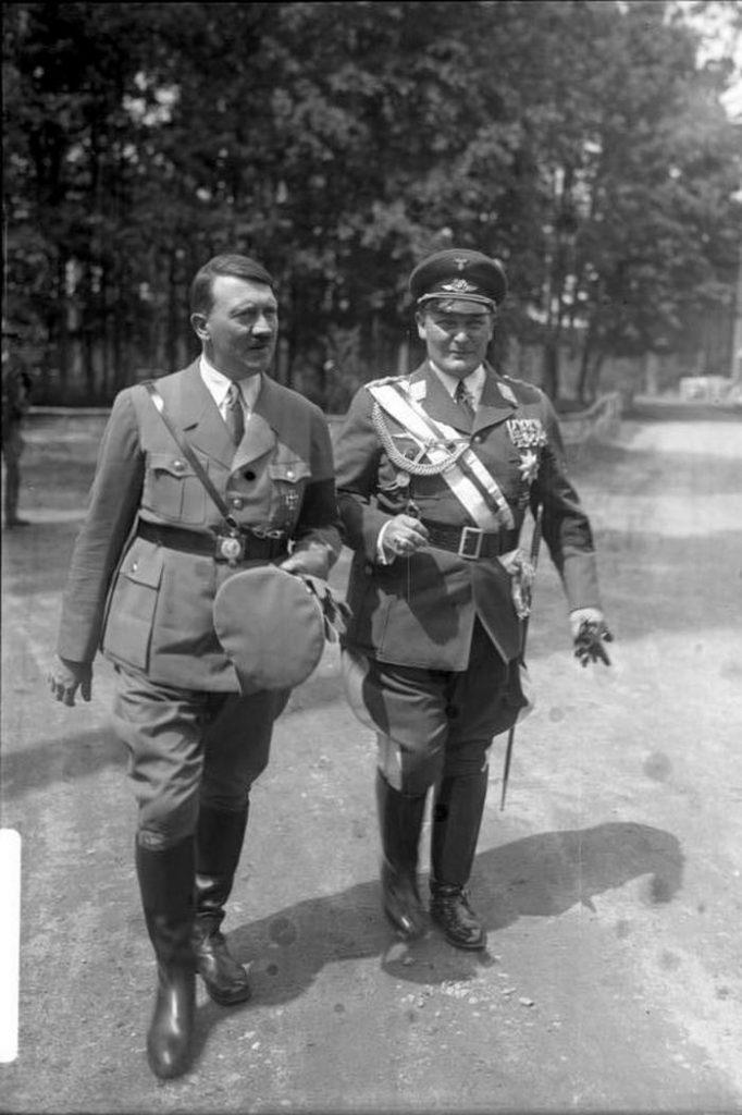 Emisariuszem Hitlera w kontaktach z Piłsudskim był Hermann Göring (Bundesarchiv/CC-BY-SA 3.0).