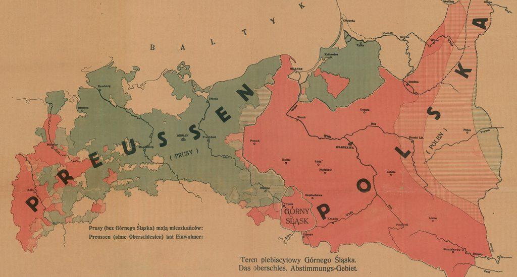 Górny Śląsk między Prusami i Polską na polskim druku propagandowym