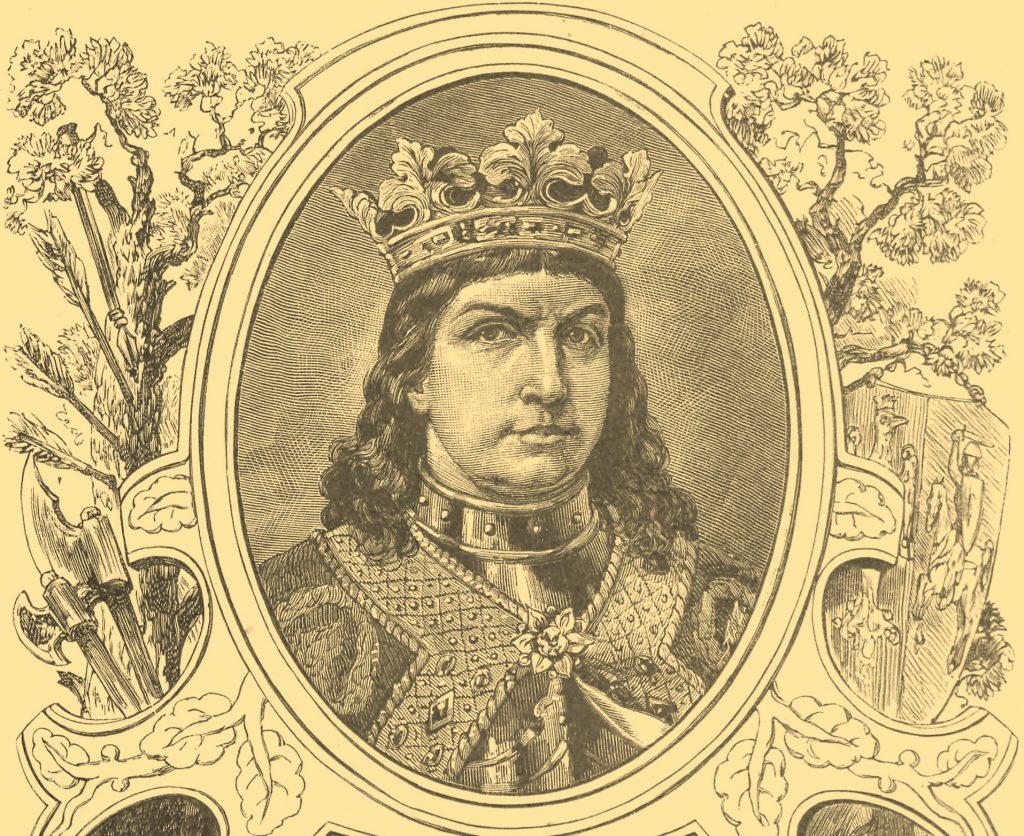 Jan Olbracht w wyobrażeniu Ksawerego Pilatiego (domena publiczna).