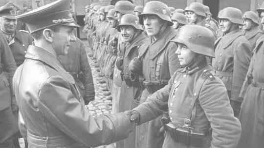 Joseph Goebbels na fotografii z marca 1945 roku.