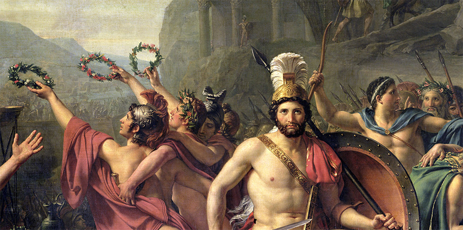 Leonidas pod Termopilami