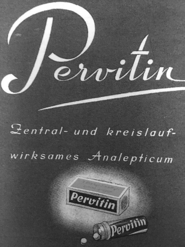 Pervitin miał być cudownym lekiem na niemal wszelkie dolegliwości (domena publiczna).