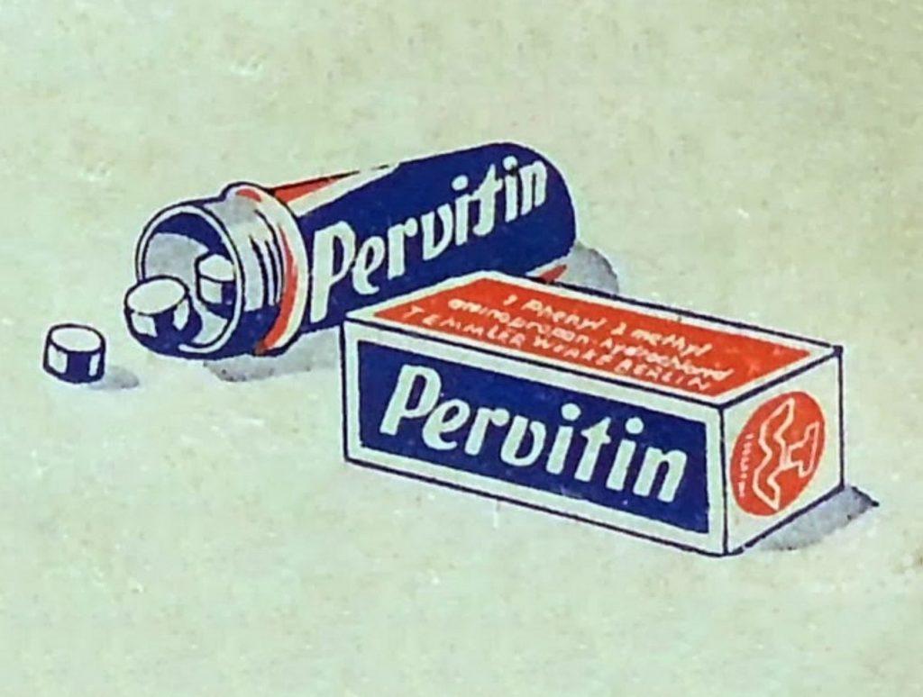 Początkowo ignorowano wszelkie działania uboczne pervitinu (domena publiczna).