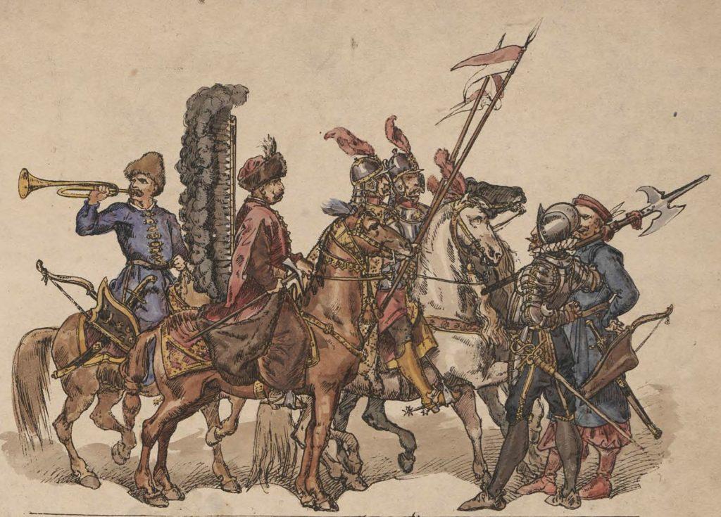 Pod Cecorą Żółkiewski miał pod swoimi rozkazami około 10 tysięcy żołnierzy (Jan Matejko/ domena publiczna).