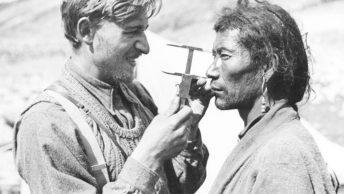 Pomiary antropologiczne podczas wyprawy Ahnenerbe do Tybetu