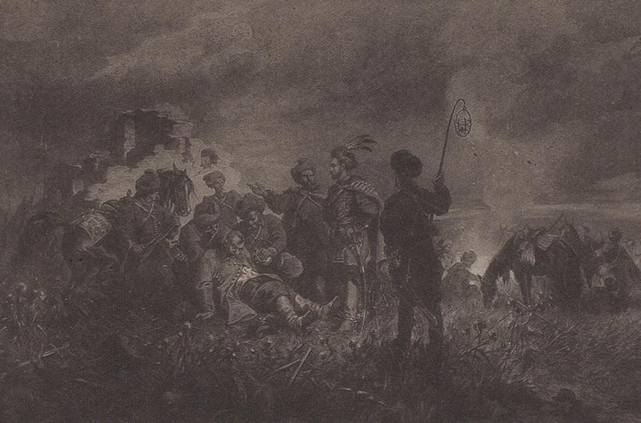 Spotkanie Chmielnickiego ze Skrzetuskim na Dzikich Polach