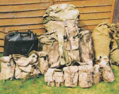 Sprzęt i wyposażenie uczestników patrolu Bravo Two Zero ważyło ponad 95 kilogramów