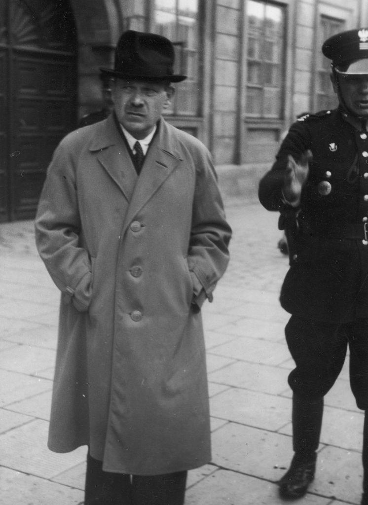 Stanisław Cywiński na zdjęciu z 1938 roku (domena publiczna).