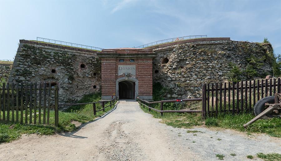 Tak zwany Donjon w Twierdzy Srebrnogórskiej