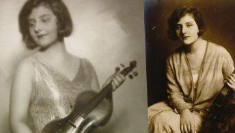 Alma Rose na fotografiach przedwojennych.
