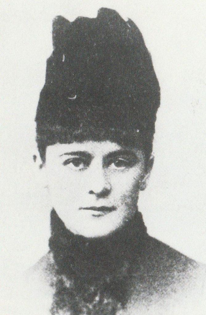 Aniela Pająkówna na fotografii z ok. 1885 roku.