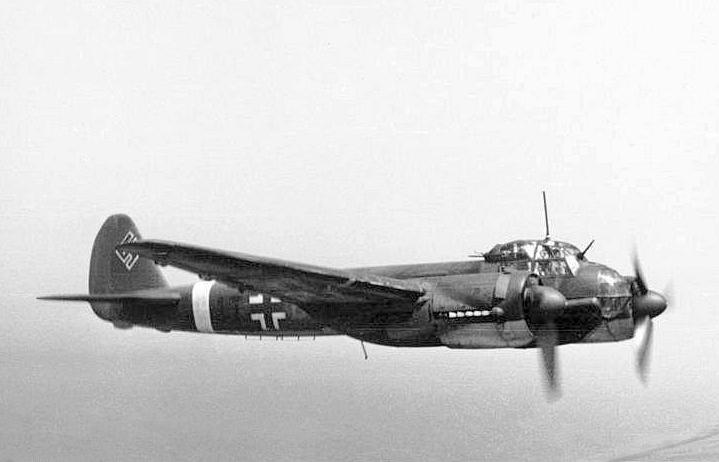 Bombowiec Junkers Ju 88 (Bundesarchiv/Rompel/CC-BY-SA 3.0).
