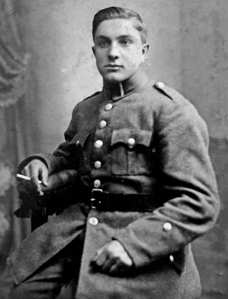 Franciszek Jóźwiak. Fotografia zamieszczona w książce Zakładnicy wolności.