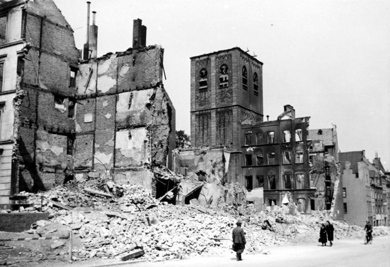Kolonia stała się celem pierwszego nalotu 1000 bombowców (Bundesarchiv/CC-BY-SA 3.0).